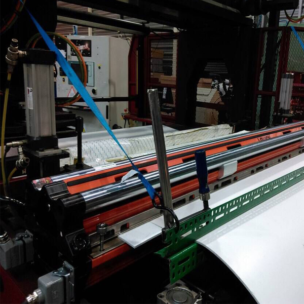 LOYICN hot press air cool 84 inch in client workshop